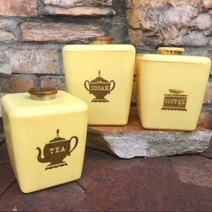 Burroughs Burrite Plastic Kitchen Canister…